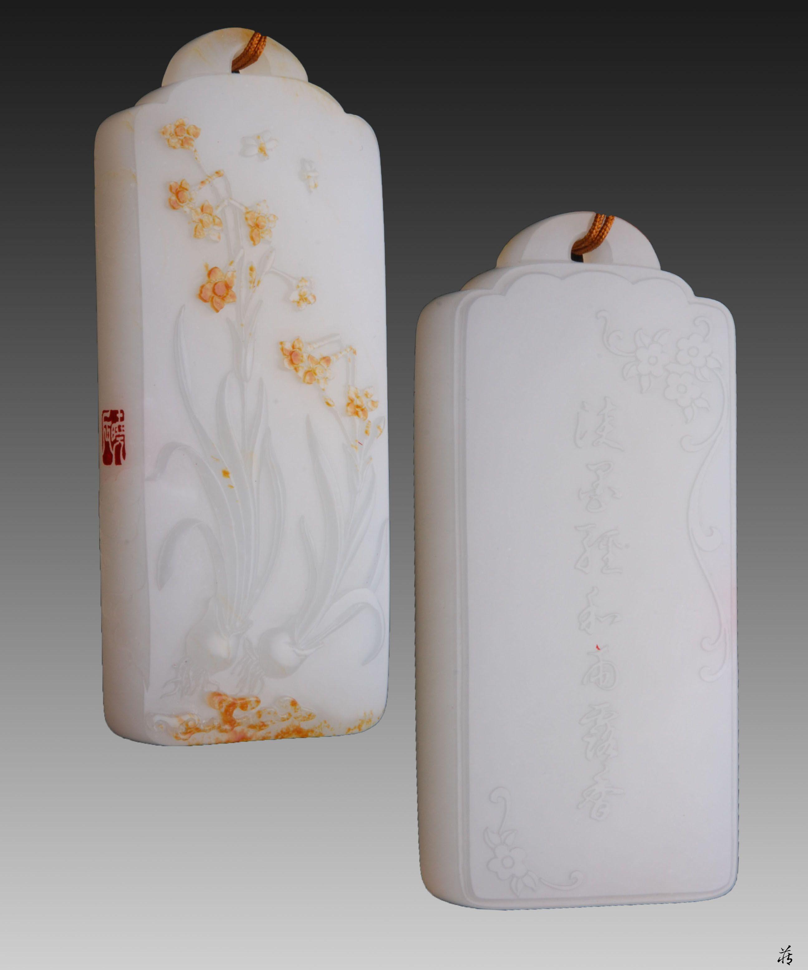 陈健玉雕工作室中国玉石雕刻大师和田玉籽料苏工