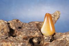 和田玉臻品丨晚霞,金皮原石,新疆和田籽料,邀您共赏