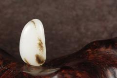 臻品丨双鱼戏莲,秋梨皮原石,新疆和田籽料,邀您共赏